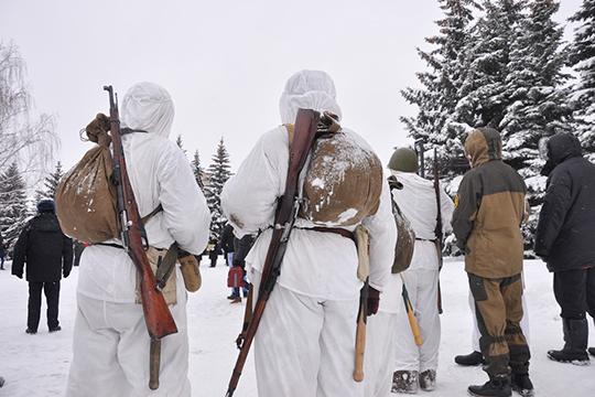 Всего вреконструкции было задействовано около 50 человек,приехавшихвНижнекамск изближайших инеочень городов