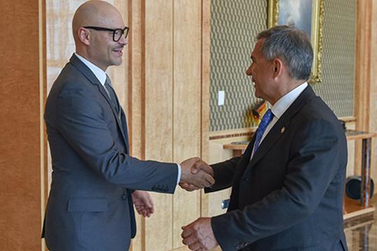 Впервые о планах Бондарчука стало известно еще в апреле 2015 года, после его встречи с главой Татарстана Рустамом Миннихановым