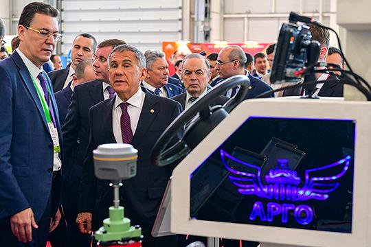 «ТатАгроЭкспо-2020» на«Казань Экспо»: как Минниханов сельхозинновации изучал