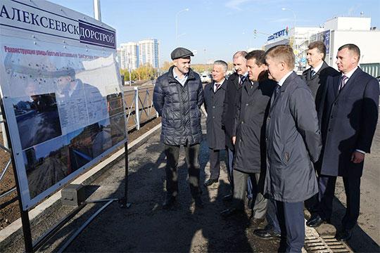 Подрядчиком проекта стал «Алексеевскдорстрой», который уже зарекомендовал себя на ряде знаковых дорожных объектов Казани