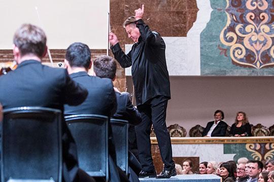 Вторым концертом VIII международного фестиваля современной классической музыки имени Софии Губайдулиной Concordia стал творческий вечер знаменитого композитора Алексея Рыбникова