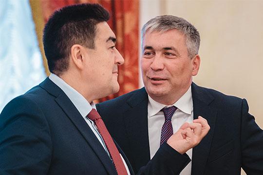 Искандер Гиниятуллин и Тимур Алибаев