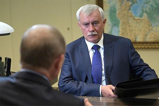 На этой неделе выяснилось, что экс-губернатор Санкт-Петербурга Георгий Полтавченко, который был отправлен в отставку еще 3 октября, до сих пор остается безработным
