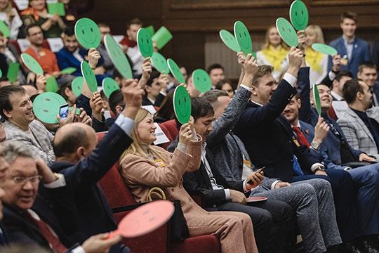 «Хорошо. Мывам поможем»,— пообещал Минниханов. Зал встретил решение главы республики бурными аплодисментами