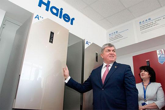 Наиль Магдеев: «Почти 400 человек будут востребованы— самое высокотехнологичное производство, 500 тысяч стиральных машин будет выпускать город Набережные Челны. Появляются новые компетенции…»