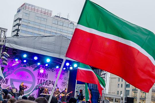 Болезненный языковой вопрос, который, как могло показаться, должен стать темой №1, вовсяком случае для самого Татарстана, напротив, очутился всередине списка— 14 место