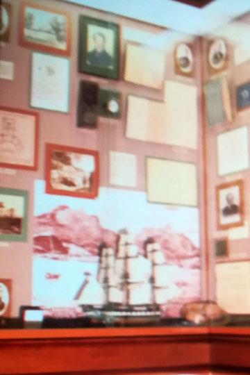 Экпозиция астрономии музея КФУ