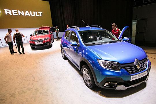 Renault стал главным аутсайдером татарстанского авторынка, потеряв 686 регистраций или 7,8% до 8091 авто