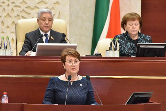 Ежегодный отчет«Особлюдении прав исвобод человека игражданина» сделалаСарияСабурская