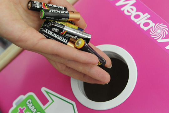 ВРоссии продают всреднем 20тыс. тонн батареек вгод, начеловека приходится всреднем 7,55 штук ежегодно
