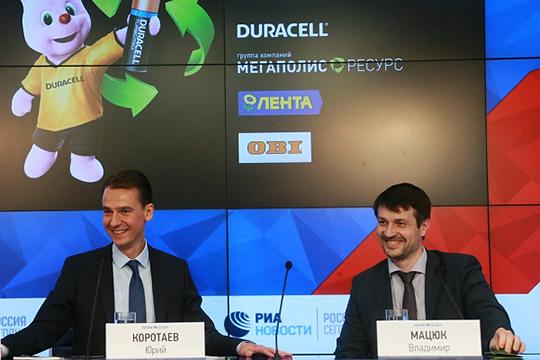 Владимир Мацюк (справа):«Переговоры ведутся. Извсех регионов Российской Федерации Татарстан подключился наиболее активно»