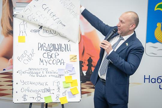 Николай Атласов:«Унас вреспублике нет раздельного сбора, поэтому один излучших вариантов, как можно решить вопрос утилизации опасных отходов»