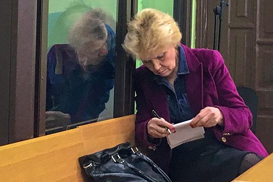 Марьям Назаровапросила судью Эрика Хабибуллина об избрании более мягкой меры пресечения в виде домашнего ареста