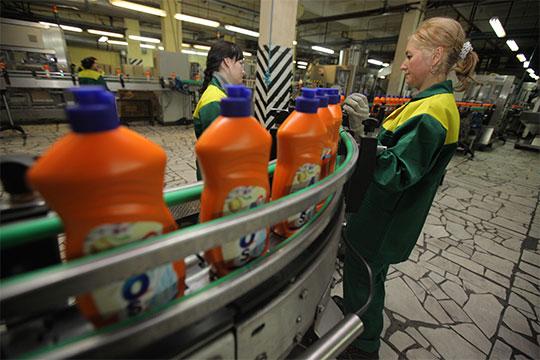 Попродажам средств для мытья посуды наконец 2017 года «Нэфис Косметикс» занимал33,3% рынка России, чистящих средств— 15,1%, стиральных порошков— 12%