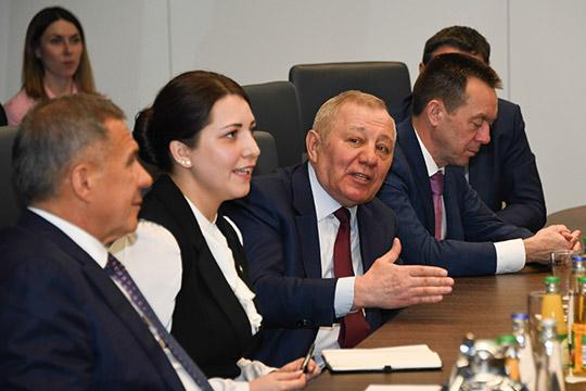 Альберт Шигабутдиновподписал меморандум остратегическом сотрудничестве между ГК«ТАИФ» игруппой Linde до2025года