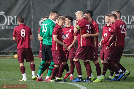 «Рубин» проиграл в третьем контрольном матче подряд, ни разу не забив