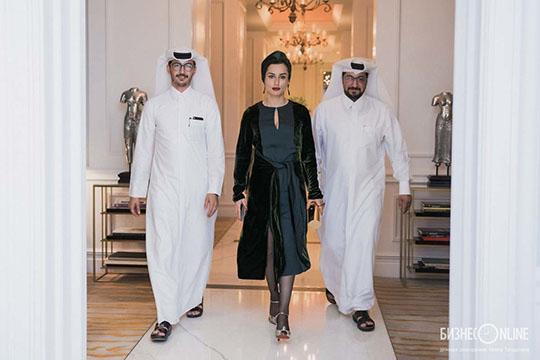 Тина Канделаки в Катаре