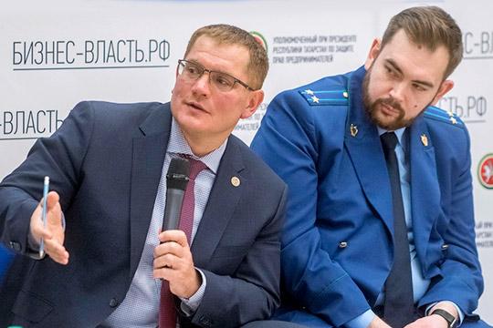 Александр Тыгин (слева)