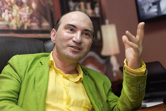 Армандо Диамантэ:«Что касается предстоящих сложностей, так это только сроки. Мыеще никогда неставили спектакли заодин месяц»