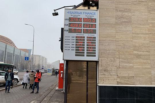 В целом экономика Казахстана, согласно официальной статистике, чувствует себя лучше российской