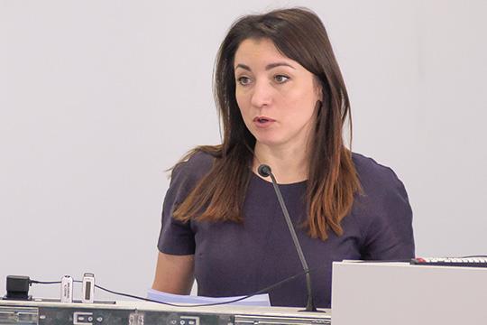 Замглавы Чистополя поэкономикеЛейсан Кашаповаутверждает, что ихрезиденты редкие, нометкие ибольшинство находятся наэтапе перерезания красной ленточки
