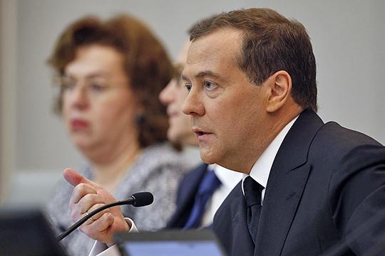 О запрете напоставки нефти инефтепродуктов натерриторию Украиныобъявил лично назаседании правительства Дмитрий Медведев