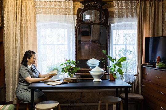 Дом Зия Камали внутри
