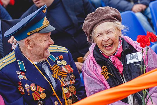 День Победы вЧелнах: парад, солдатская каша ифильм «Летят журавли»