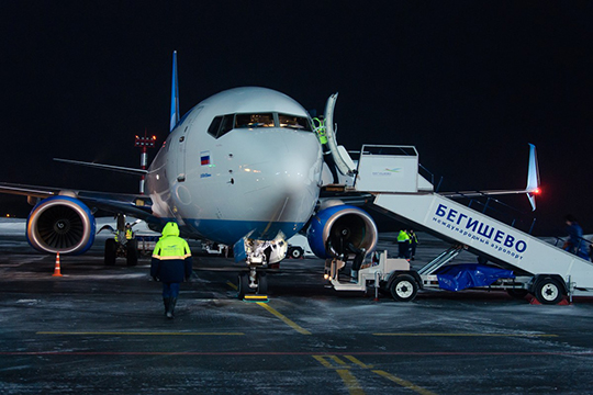 «Бегишево, несмотря наблизких конкурентов— Уфу, Самару, Казань— работает устойчиво, все впорядке сбезопасностью полетов»