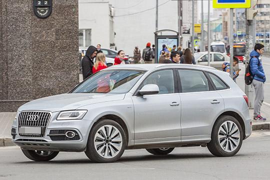 Навтором месте попопулярности упокупателей Audi держатся среднеразмерные кроссоверы Q5