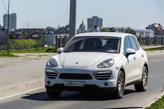 Cayenne выбрали 42 из55 (или 76%) покупателей подержанных машин Porsche