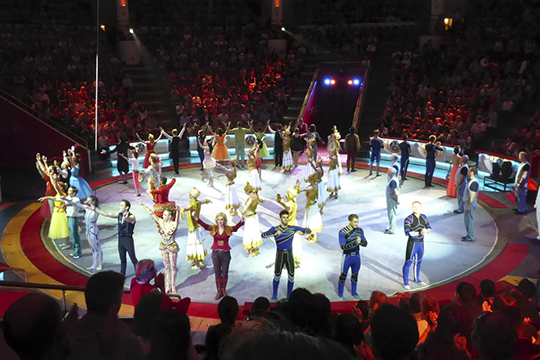 Цирк Никулина икино санглийскими субтитрами