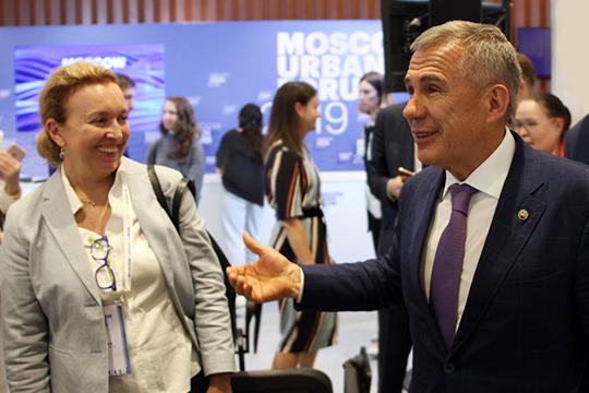 Рустам Минниханов:«Надеюсь, что найдется такой человек, который придет вгород. Мыхотим, чтобы наш город стал еще лучше, краше, удобнее»