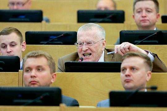 Владимир Жириновский, как обычно, нестеснялся ввыражениях ивжелании показать себя знатоком истории едвали несовремен Христа