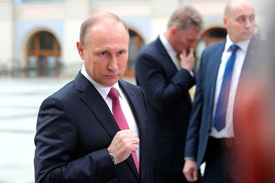 Владимир Путин: «Много чести – возбуждать какие-то уголовные дела. Пусть вещает дальше»