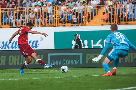 Четвертый гол в сезоне «Рубин» забил после замены: на этот раз отличился Марков
