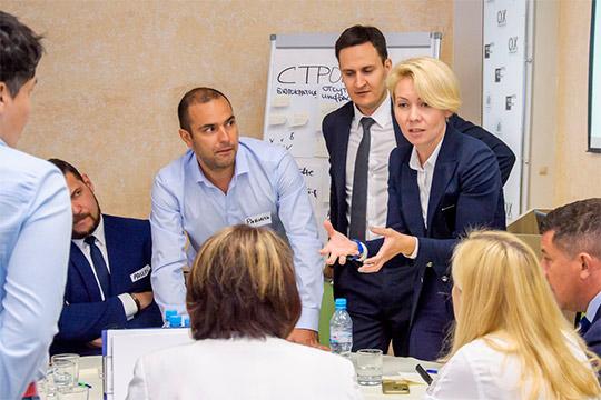 Очередная проектировочная сессия откомандыВенеры Камаловойпрошла сегодня вчелнинском отеле Open City ввесьма представительном составе