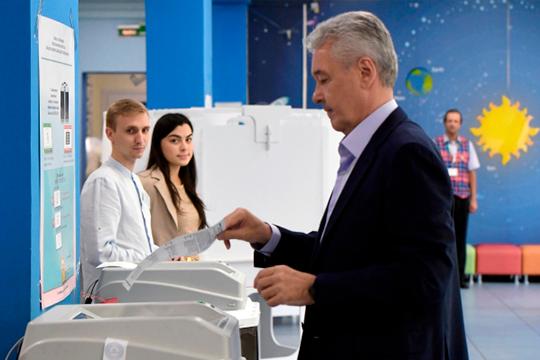 Мэр Москвы Сергей Собянин охарактеризовал эти выборы как «самые эмоциональные и реально конкурентные за всю последнюю историю»