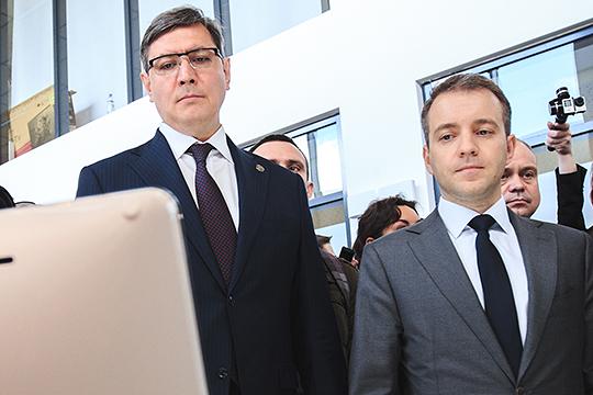 В мае 2018 года Роман Шайхутдинов (слева) лишился своего главного, как утверждают источники «БИЗНЕС Online», покровителя — Николая Никифорова (справа)