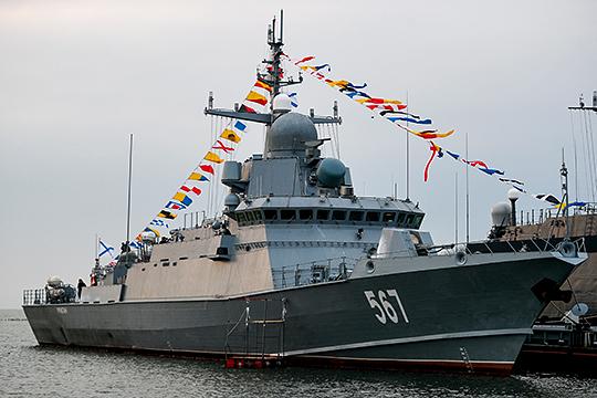 На международной оборонной выставке EDEX 2018 руководство ВМС Египта заинтересовалось малыми ракетными кораблями (по всей видимости, имеются в виду МРК проекта 22800 «Каракурт»), которые строит завод им. Горького