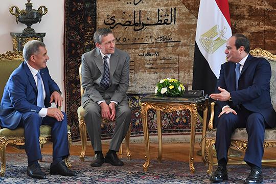 Все наметки были сделаны после визита в октябре 2018 года в Египет президента РТ Рустама Минниханова