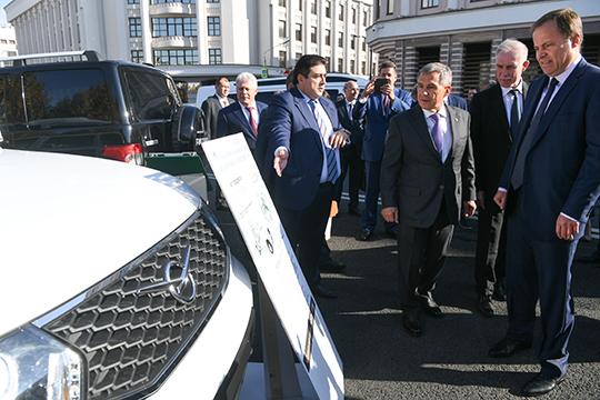 «Рустам Минниханов протестировал УАЗ «Патриот».Он сказал, что машина хорошая»
