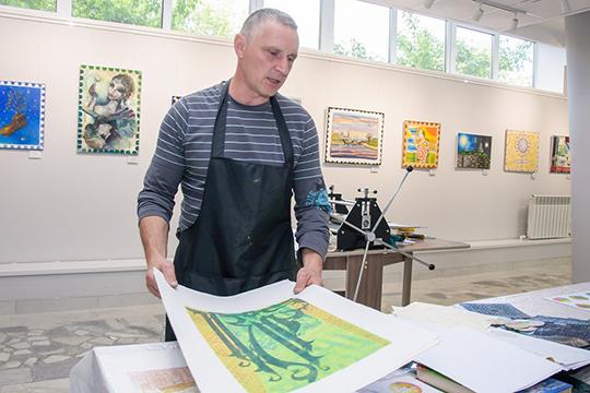«Один изсамых интересных иуникальных проектов картиной галереи является «Кабинет эстампа», врамках которого ведется работа попопуляризации искусства печатной графики»
