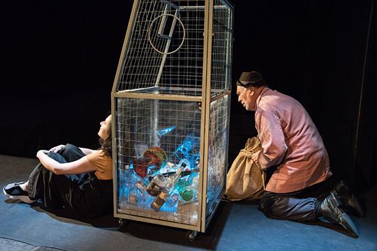 Главным событием вечера стал спектакль «Туман» в постановке Фарида Бикчантаева