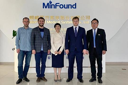 Китайская компания MinFound Меdical System намерена вложить от 1 до 3 млрд рублей в локализацию на территории Татарстана производства магнитно-резонансных томографов