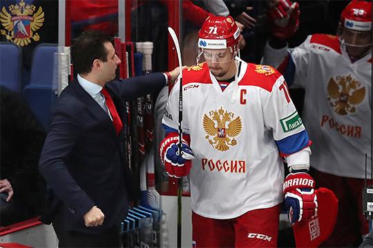 Всборной России смотрят хоккеистов для СКА инаигрывают клубные тройки