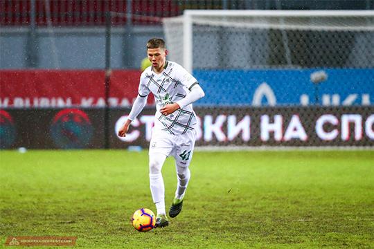 Самым юным из всех отправленных в аренду «Рубином» игроков стал выпускник клубной академии этого года Владислав Микушин