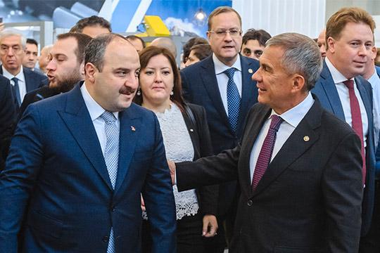 Накануне Рустам Минниханов встретился с министром промышленности и технологий Турецкой Республики Мустафой Варанком, речь шла как раз про расширение сотрудничества Татарстана и Турции