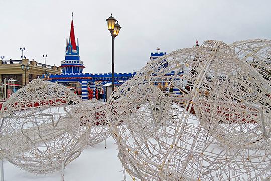 Открытие самого сказочного городка с новой концепцией «Королевство Щелкунчика» ожидается 21 декабря, а сам городок продолжит работу до 26 января