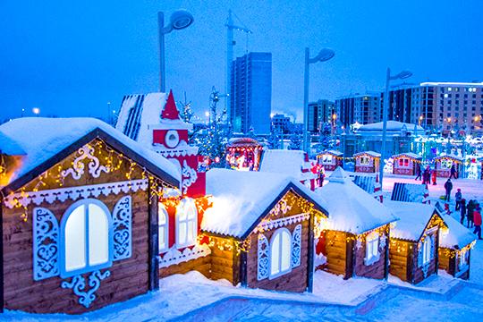 21 декабря двери для посетителей открывает Ханский двор